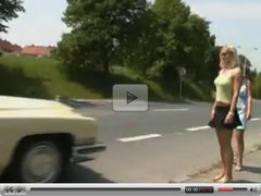 Blonde hitchhikers
