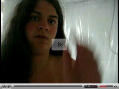 Chubby Teen Ex Girlfriend masturbating in the Shower