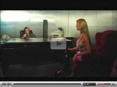 Poledancer Trina Michaels Anally Rides Pole