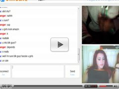omegle 40 (2 shocked girls watch me cum)