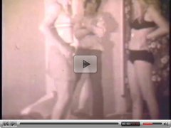 Vintage Horny Girls Share A Guy