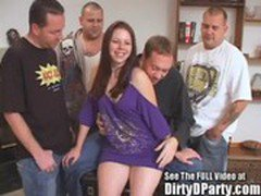 Teen Gang Bang Slut