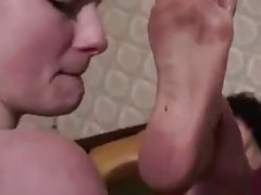 dirty puta slave clean latina feet