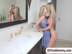 Naughty mother in law Brandi Love is seducing sexy teen Lia Lor