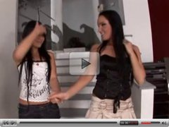 Cindy Hope Madison Parker and Angel Dark in lesbianthreesome