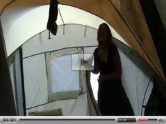 german camping blowjob with swallow