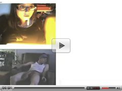 monster dick shocked girl in chatroulette