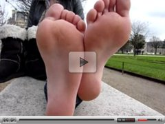 WLF25 feet with high arch soles !