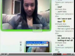 msn chatting and cum for girl