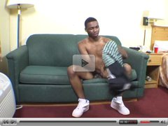 Citi boy jerk hig big black dick