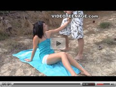 teen sex at beach
