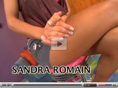 Sandra Romain interracial sex