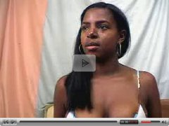 Ebony Teen GloryBlack Spreading, Masturbating & Bouncing