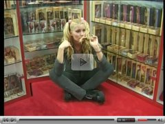 French Teen Blonde Fucked In Pornshop