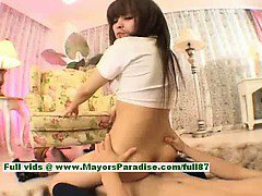 Ayane Sakurada amazing Chinese schoolgirl enjoys hard sex