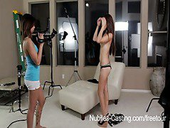 Nubiles Casting - Tiny latina hottie does her first hardcore audition