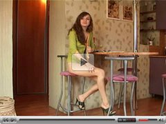 Teen Maya fuck on the chair