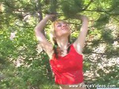 Masked Man Rapes A women Hard In Garden Extreme Abuse wwwForceVideoscom