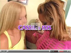 Cassie and Isis experiment