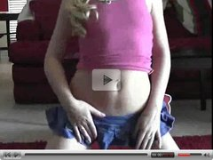 Cute Teen Strips And Touches Herself