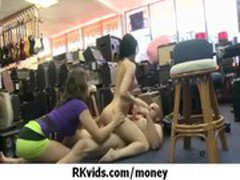 Gorgeous teens getting fucked for money 35