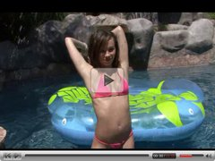 Pool party with Capri Anderson