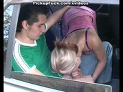 ride Blonde and Gagged