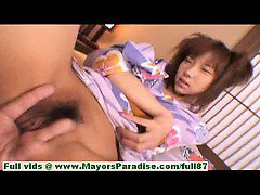 Serina Hayakawa hot girl lovely Chinese model enjoys getting pussy fingered