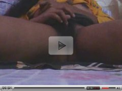 Horny indian teen masturbating to orgasm for Bf