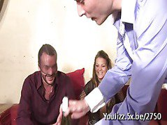 Gina shared in a gangbang by her husband