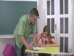 Anouk - Ripped up and fucked in a classroom