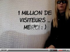 1 million de visiteurs ... merci : )