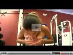Bic Cock Fucks Latina in Gym by TROC
