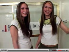 Kitty Shaina and Smarty Shana - Twin bath