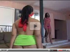 Ebony Lesbian Collection 9
