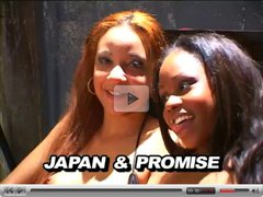Promise & Misty Mason (2) Ebony Threesome! brmny