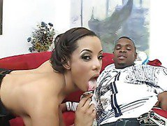 Alicia Tyler fucked hard by Rico Strong