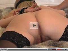 Slave wife back massage