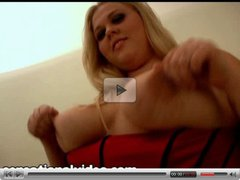 Sexy Amateur BBW Christina Curves In Her First Movie