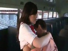 School Girl Fucking in Bus