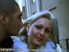 Awesome blonde is picked up from street part4