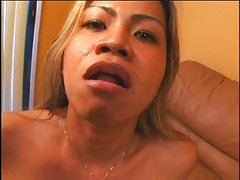 Hot Asian Masturbates Her Pussy Then Gets Fucked