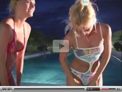 HOT Blonde Lesbians play with each other feat. Sandy