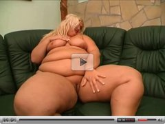 Blonde Fat BBW Lesbians playing with their Wet Pussies