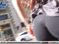 Most Beautiful Teen Ass, Flashing in the streets.