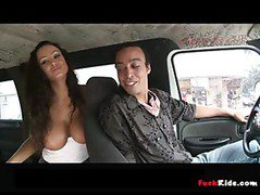 Lisa Ann Rocks The Bangbus p1