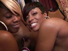 Thick Chicks Cherokee And Beauty Share A BBC
