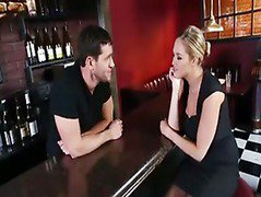 Kate and the bartender