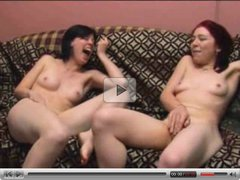 two girls masturbating together