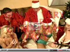 Gina's Very Merry Christmas Orgy. Vintage